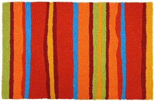 Jellybean Fiesta Stripes Accent Area -
