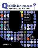img - for Q: Skills for Success 4 Reading & Writing Student Book with Student Access Code Card book / textbook / text book