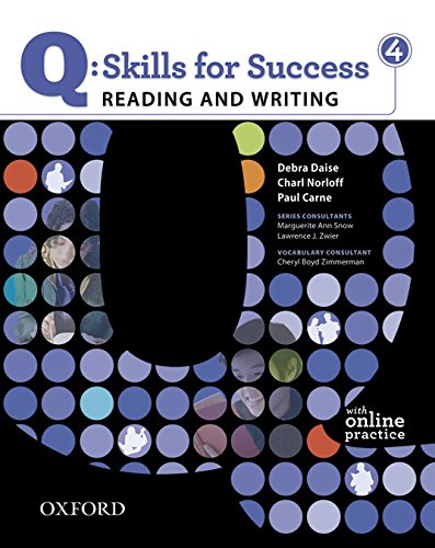 Q: Skills for Success 4 Reading & Writing Student Book with Student Access Code Card