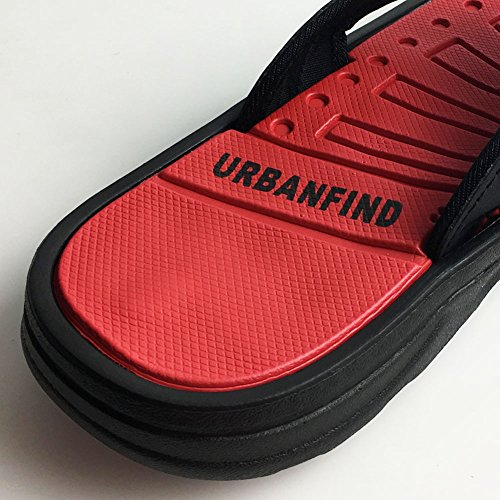Sandals Light Weight URBANFIND Summer Flip Flops Slipper Thong Classic Mens Red 7nF7qzwxOp