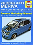 Vauxhall/Opel Meriva Service and Repair Manual (Service & repair manuals) by Billy Bragg (7-Nov-2014) Paperback
