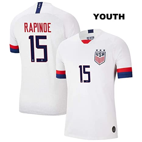 new style e089b 52502 Amazon.com : ZZXYSY Megan Rapinoe #15 2019 Women's World Cup ...