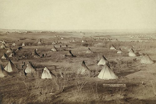ArtParisienne The Great Hostile Camp Lakota John C.H. Grabill 20x30 Poster Semi-Gloss Heavy Stock Paper Print from ArtParisienne