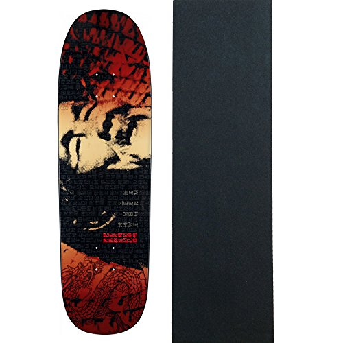 POWELL PERALTA Skateboard Deck THE SEARCH FOR ANIMAL CHIN Red W/ GRIP