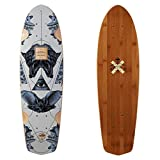 FIREBALL Arbor x Supply Co. Longboard Skateboards (Various Models) (Pocket Rocket - Bamboo (27'), Deck Only)