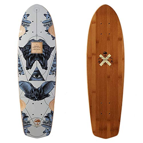 Deck Skateboard Downhill - Fireball Arbor x Supply Co. Longboard Skateboards (Various Models) (Pocket Rocket - Bamboo (27