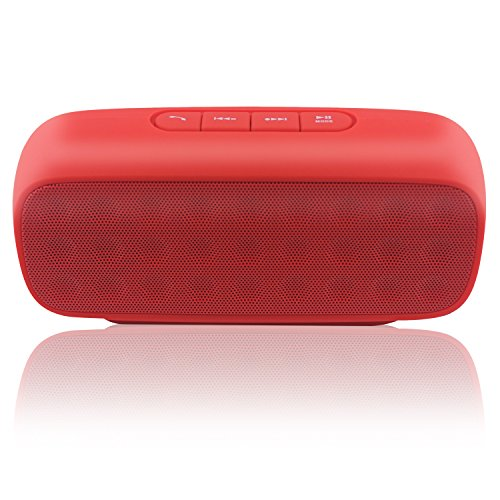 TecBillion Bluetooth 3.0 Portable Wireless Speaker, Total 6W Output Power with Enhanced Bass and Stereo Sound,...