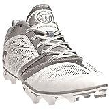 Warrior Burn 6 Low Cut Lacrosse Cleats - White