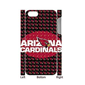 Generic Creative Back Phone Cover For Child Printing With Nfl Arizona Cardinals For Case For Iphone 5/5S Cover Full Body Choose Design 1-3