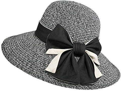 Sombreros Gorras Visera Playa para Mujer Playa Pescador Negro ...