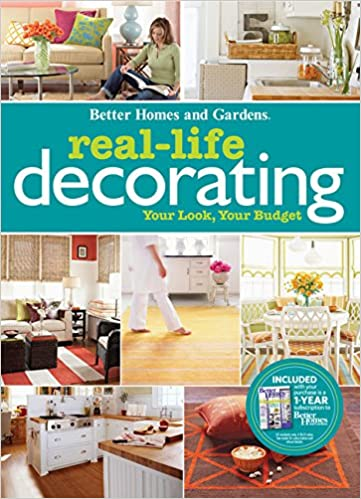 Real Life Decorating (Better Homes And Gardens Home): Better Homes And  Gardens: 9780470564998: Amazon.com: Books
