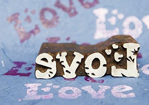 Blockwallah Coral Wooden Block Stamp