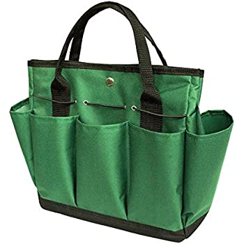 Garden Tote/ Gardening Tool Storage Bag/Garden Tool Bag With With 8 Pockets  Oxford