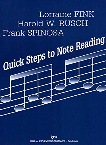 Note Reading Book (70VN - Quick Steps to Note Reading - Volume Two - Violin)