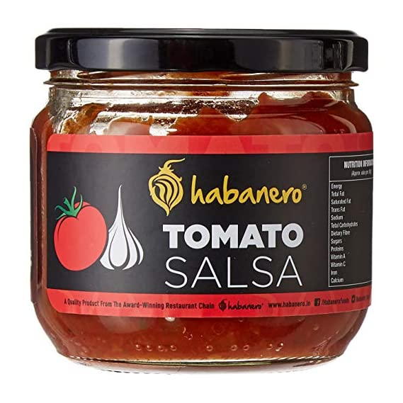 Habanero Salsa-Tomato 270 gm (Pack of 2) Bottle, 270 g