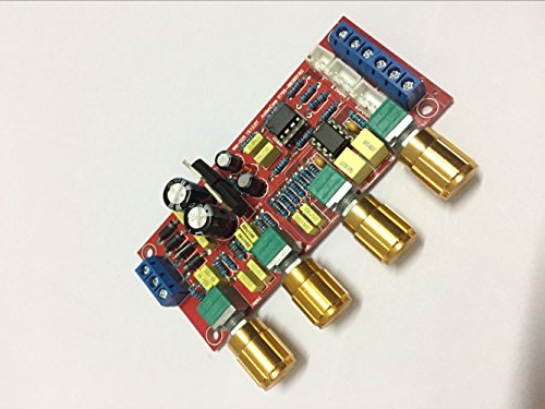 HIFI fever level tone board NE5532 front board power amplifier front panel