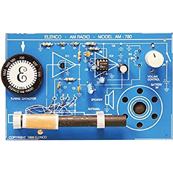 Amazon com: Edu-Toys Crystal Radio Kit | Build your Own Radio | DIY