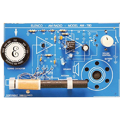 AM Radio Kit with SOLDERING