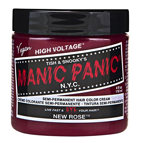New Rose Hair Dye (Manic Panic Classic Creme Hair Color New Rose)