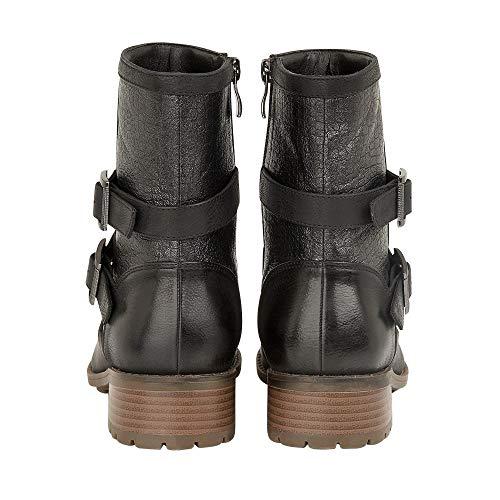 Coniston Bbk Lotus Boots Schwarz Biker Damen Black 5nBq0Bp1