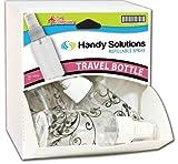 Handy Solutions Travel Spray Bottle Dispensit Case 144 pcs sku# 1865419MA