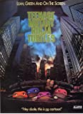 Teenage Mutant Ninja Turtles Plakat Movie Poster (27 x 40 Inches - 69cm x 102cm) (1989) B