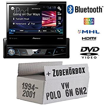 VW Polo 6N + 6N2 - Pioneer AVH-X7800BT: Amazon.es: Electrónica
