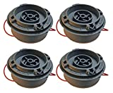 Ryobi RY28140 Trimmer (4 Pack) Replacement String Head Assembly # 309562005-4PK