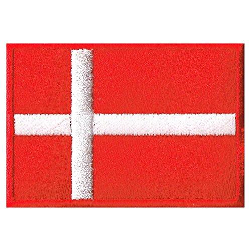 デンマーク国旗ワッペンの商品画像
