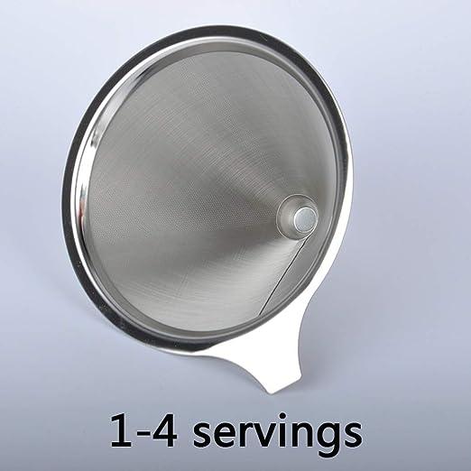 Filtro de café Filtros Cafetera Con clip integrado Microfiltro de ...