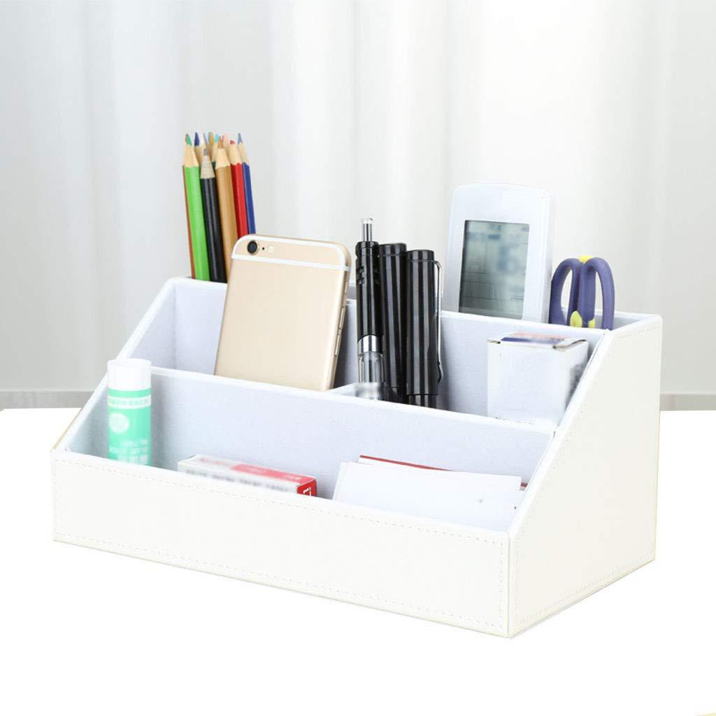 Amazon.com: Desktop Organizer Storage Box Pen Holder ...