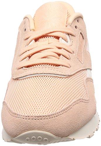 de Chaussures Dustchalk Running M Reebok Nylon Beige CL Femme Desert Mesh AfWqAXnHwI