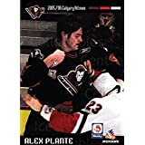 Alex Plante Hockey Card 2005-06 Calgary Hitmen #15 Alex Plante