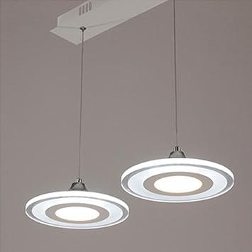 Modern Scheibe LED Deckenleuchte, Zeitgenössisch Transluzent Acryl Schatten  Einfach Kronleuchter Restaurant Cafe Deckenbeleuchtung Dachgeschoss  Schlafzimmer