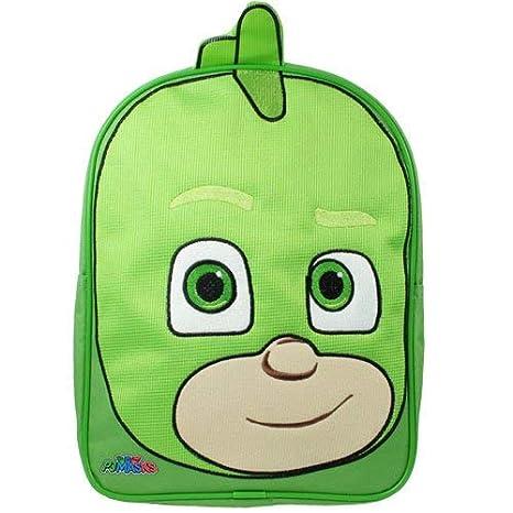 P J Masks Backpack Mochila Infantil, 31 cm, 7750 Liters, Verde (Green)