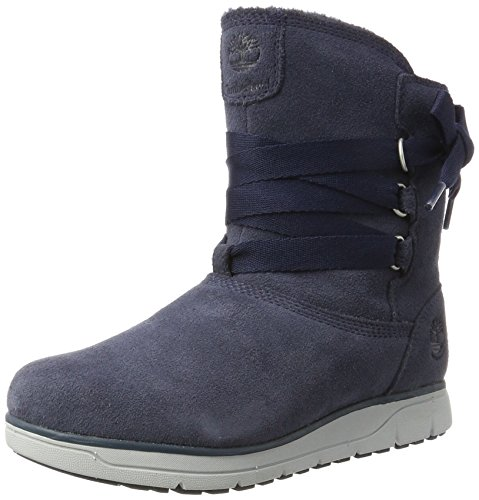 Femme Timberland Bottes Leighland outerspace Bleu f0qO4fwn