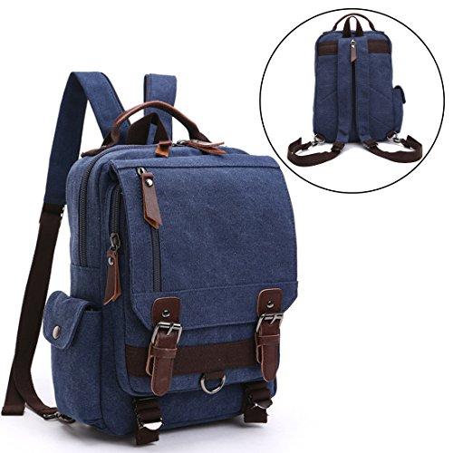 VentoMarea Cross Body Messenger Bag Sling Canvas Chest Bag Shoulder Backpack Travel Rucksack for Men, Women For Sale