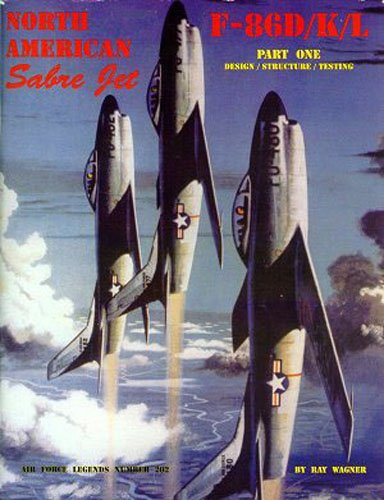 North American Sabre Jet F-86D/K/L - Part.1 (Air Force for sale  Delivered anywhere in USA