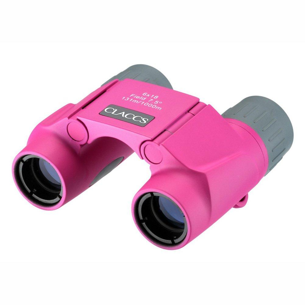 Nashica Claccs 6x18mm DCF-IFF Compact Mini Binoculars Nashica Claccs 6x18mm DCF-IFFコンパクトミニ双眼鏡 [倂行輸入] (Pink) B06VTTY62V Pink Pink