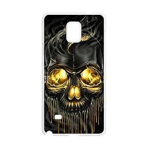 WAGT Shiny melting skull Cell Phone Case for Samsung Galaxy Note4 Kimberly Kurzendoerfer