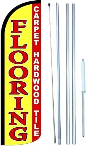 Flooring Swooper Windless Flag Kit Full Sleeve Flag