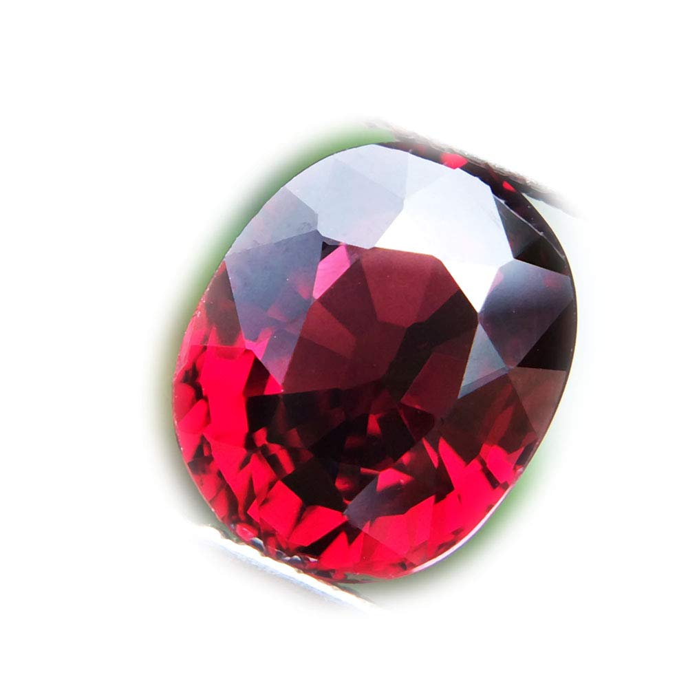 Lovemom 3.17ct Natural Oval Unheated Reddish-Pink Rhodolite Garnet Mozambique #W