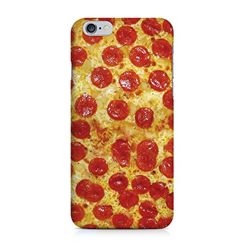 COVER Pizza Salami fast food Handy Hülle Case 3D-Druck Top-Qualität kratzfest Apple iPhone 6 6S