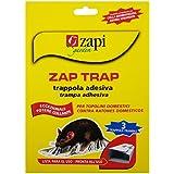 Zap Trap - Trampa adhesiva para ratones, lote de 3 trampas