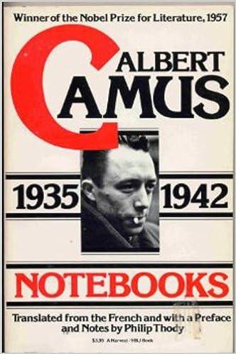 1935-1942 Notebooks