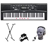 Best Yamaha Keyboards - Yamaha EZ-220 61-Lighted Key Portable Keyboard Package Review