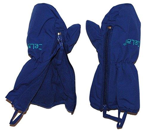 Handschuh mit langem Schaft + Reißverschluß - leicht zu öffnen - Thermo gefüttert Thermohandschuh - Größen: 6 Monate bis 2 Jahre - Fausthandschuh Handschuhe