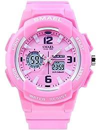 Kids Sports Wrist Watch Quartz Dual Movement with...