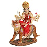 PTC 8.5 Inch Durga Mythological Indian Hindu Goddess Statue Figurine