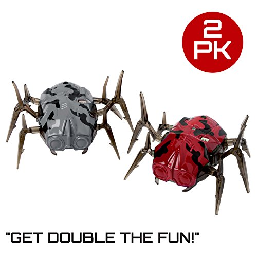 "Laser Tag Spider Moving Robot - ""Space Blaster Training Bot"" Robot Bug Blaster Tag Target for Your Laser Tag Gaming Set and Toy Games"